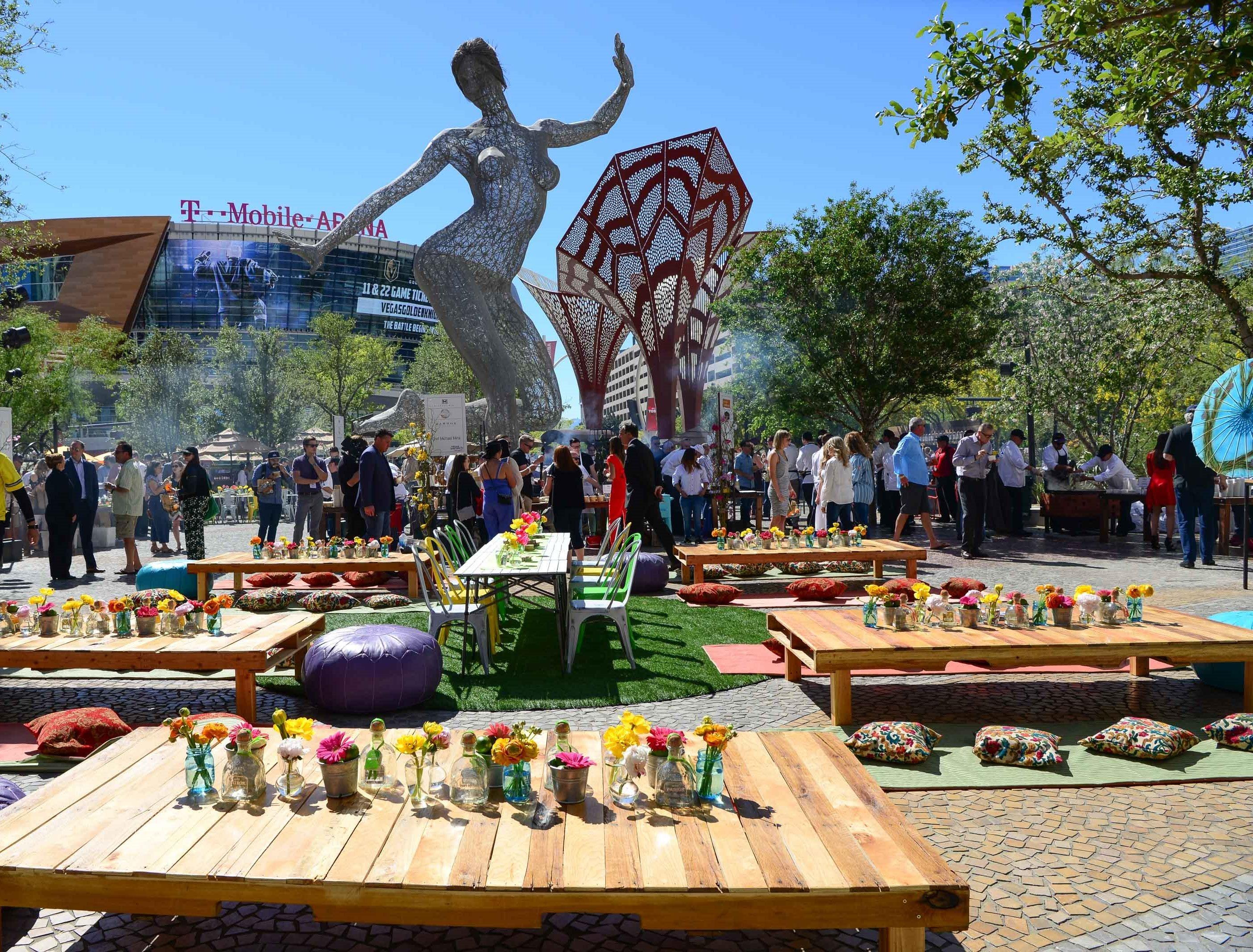 MGM Resorts International's Picnic at The Park (credit MGM Resorts International)